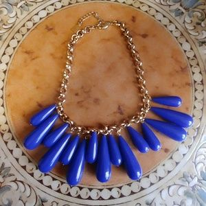 Chunky, blue neclace